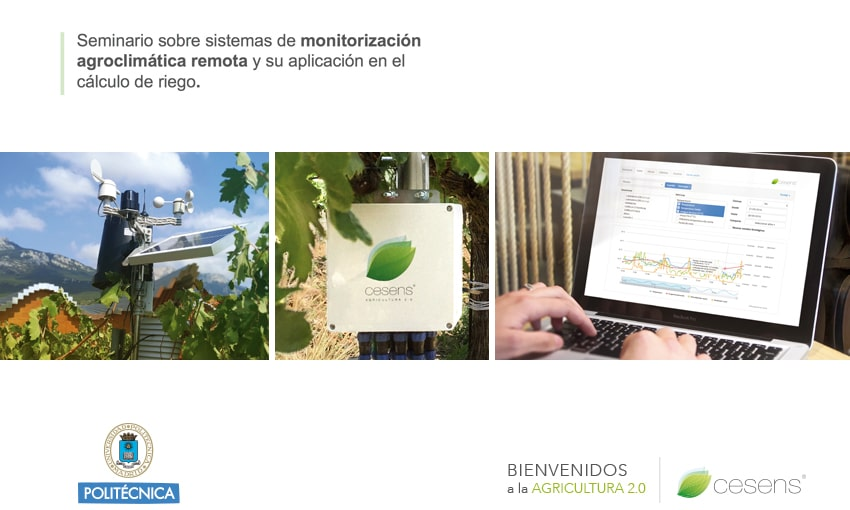 """Encore Lab at the """"Agro-climatic monitoring systems"""" seminar"""